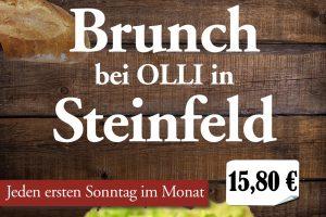 Brunch bei Olli in Steinfeld