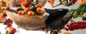 Kaltes Fischbuffet